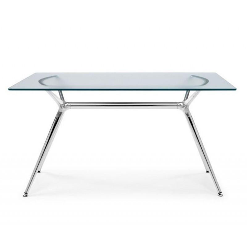 TABLE EN VERRE METROPOLIS