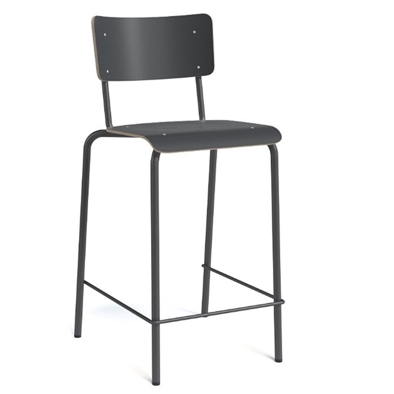 tabouret hauteur 65cm college. Black Bedroom Furniture Sets. Home Design Ideas