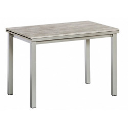 TABLE RECTANGULAIRE AVEC 2 ALLONGES HT 75