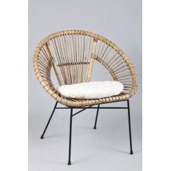 fauteuil rotin 765