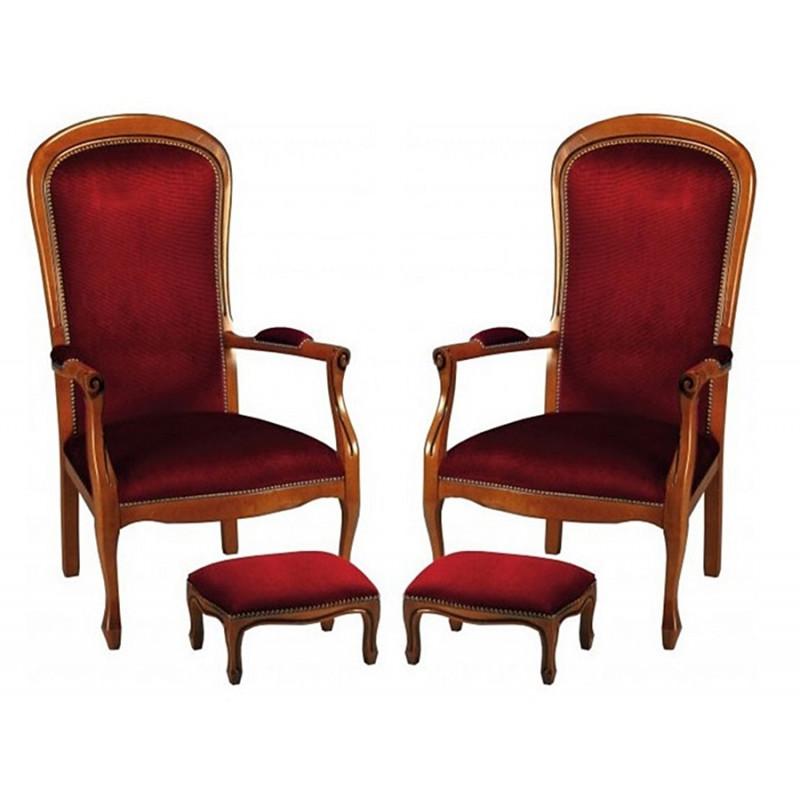 fauteuil de style Voltaire 84