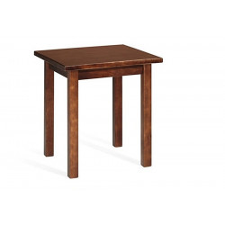 TABLE CARREE OU RECTANGULAIRE EN BOIS