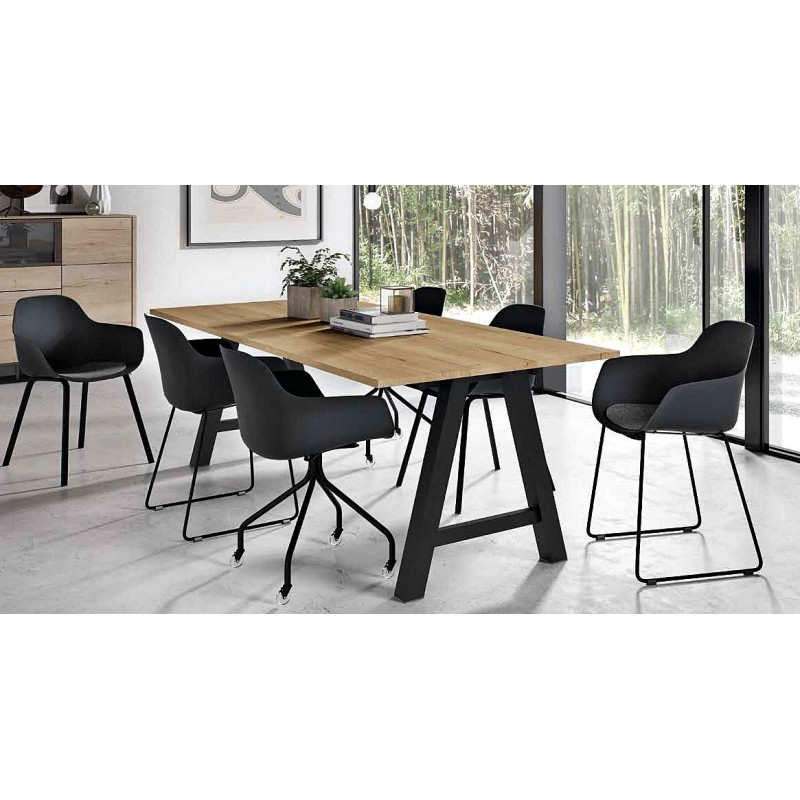 Table alegro ht 75 ou 90cm for Table salle a manger usage
