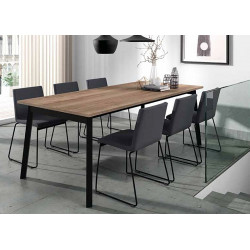 TABLE  EN STRATIFIE  AVEC ALLONGE EMINENCE