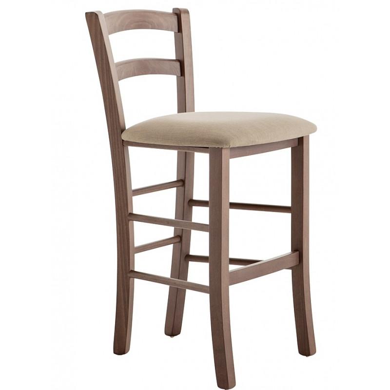 chaise de bar paille et fer forgé