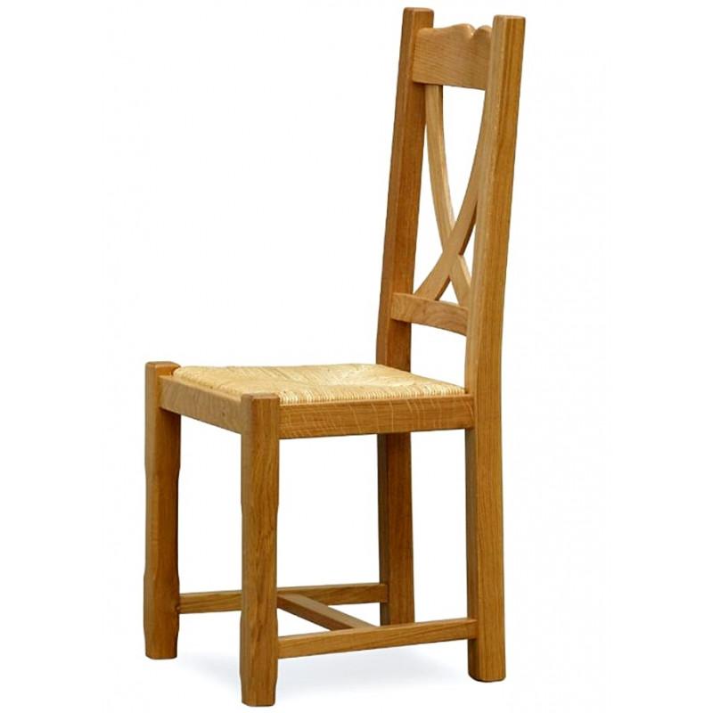Chene Chaise Chene En Honfleur Rustique En Chaise Rustique Honfleur Rustique Chaise En Chene b6yYf7g
