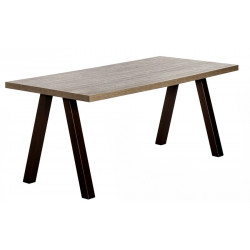TABLE RECTANGULAIRE QUEEN HT 105 CM