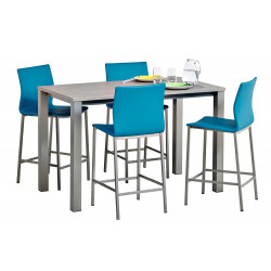 TABLE STRATIFIEE RECTANGLE VIENNA HT 90 CM