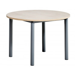 TABLE EXTENSIBLE RONDE LUSTRA HT 90