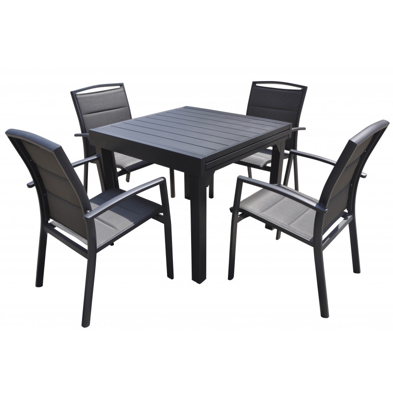 TABLE PATIO ALU 3 TAILLES