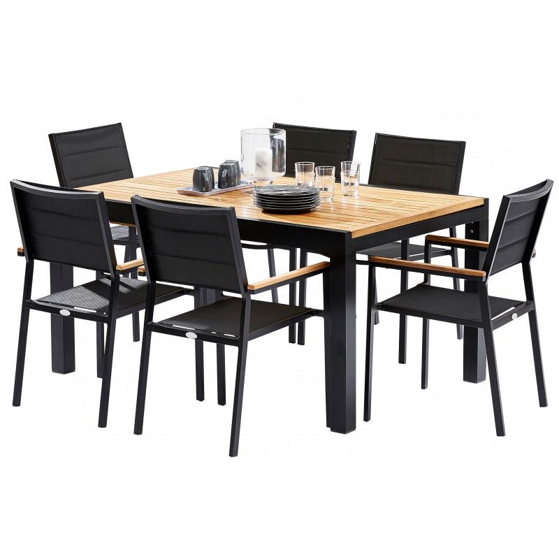 TABLE DE TERRASSE BAMBOU