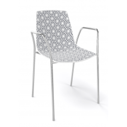 chaise alhambra accoudoirs 92