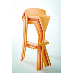 TABOURET EMPILABLE 80cm SHIVER 68