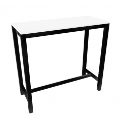 TABLE  BAR RECTANGULAIRE HT110 CM