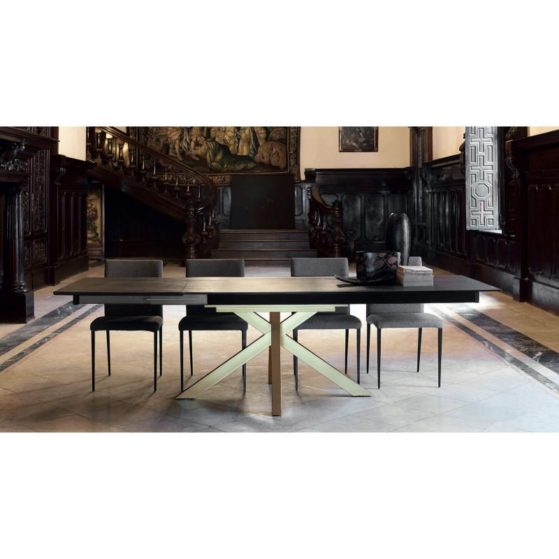 TABLE DEKTON MOON