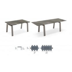 TABLE ZEFFIRO CERAMIC