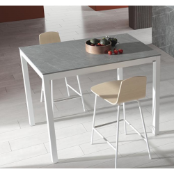 TABLE CERAMIQUE LEO HT 90 CM