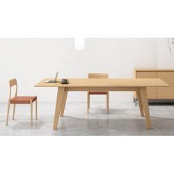 TABLE EN BOIS EXTENSIBLE CURVE