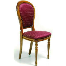 CHAISE DE STYLE TISSUS ADELINE