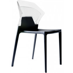 CHAISE EMPILABLE DESIGN EGO-S