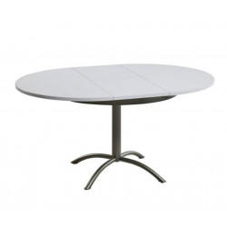 TABLE DE CUISINE STRATIFIE AVEC ALLONGE LASER