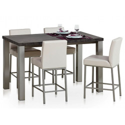 TABLE DE CUISINE EN STRATIFIE QUADRA HT90