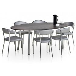 Acheter votre table de cuisine au meilleur prix le chaisier - Petite table ovale de cuisine ...