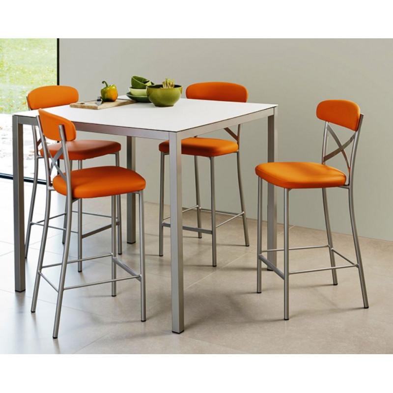 Table de cuisine stratifi e cobra ht75 ou 90cm for Table de cuisine 90 x 90