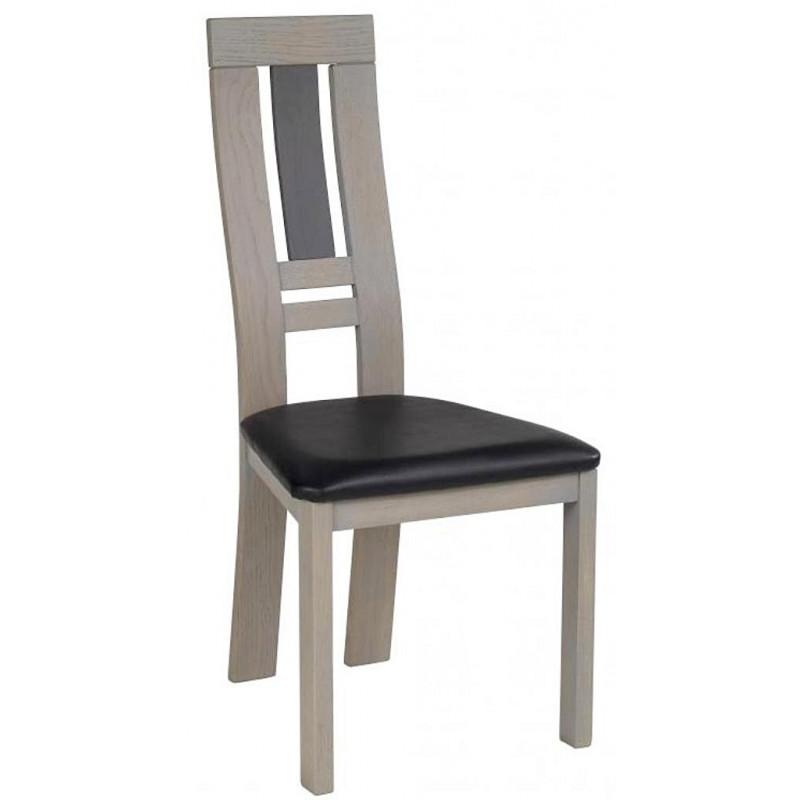 Chaise de salle manger en bois alba for Chaise salle a manger en bois