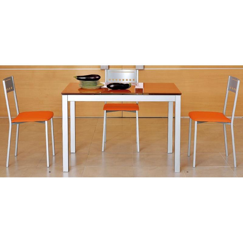table en verre avec allonges apolo. Black Bedroom Furniture Sets. Home Design Ideas