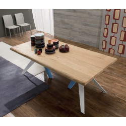 TABLE DESIGN BOIS RECTANGULAIRE