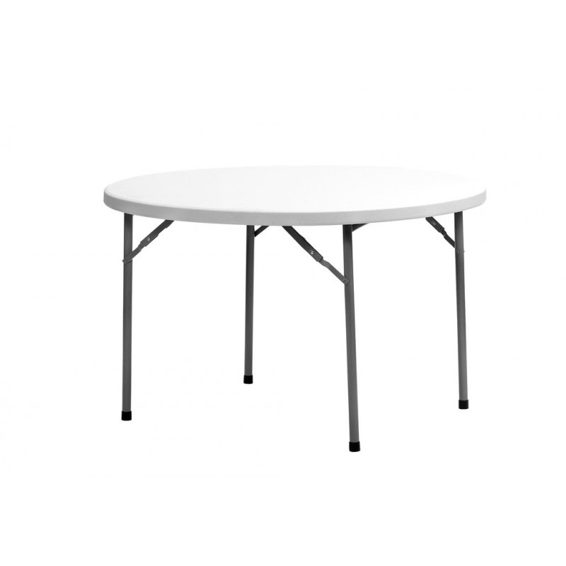 TABLE PLIANTE DE COLLECTIVITE RONDE PLANET