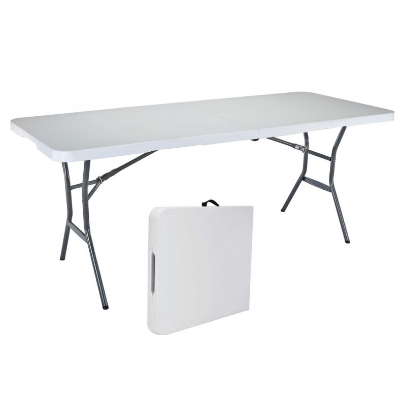 Table pliante valise 80280 for Table pliante exterieur professionnel